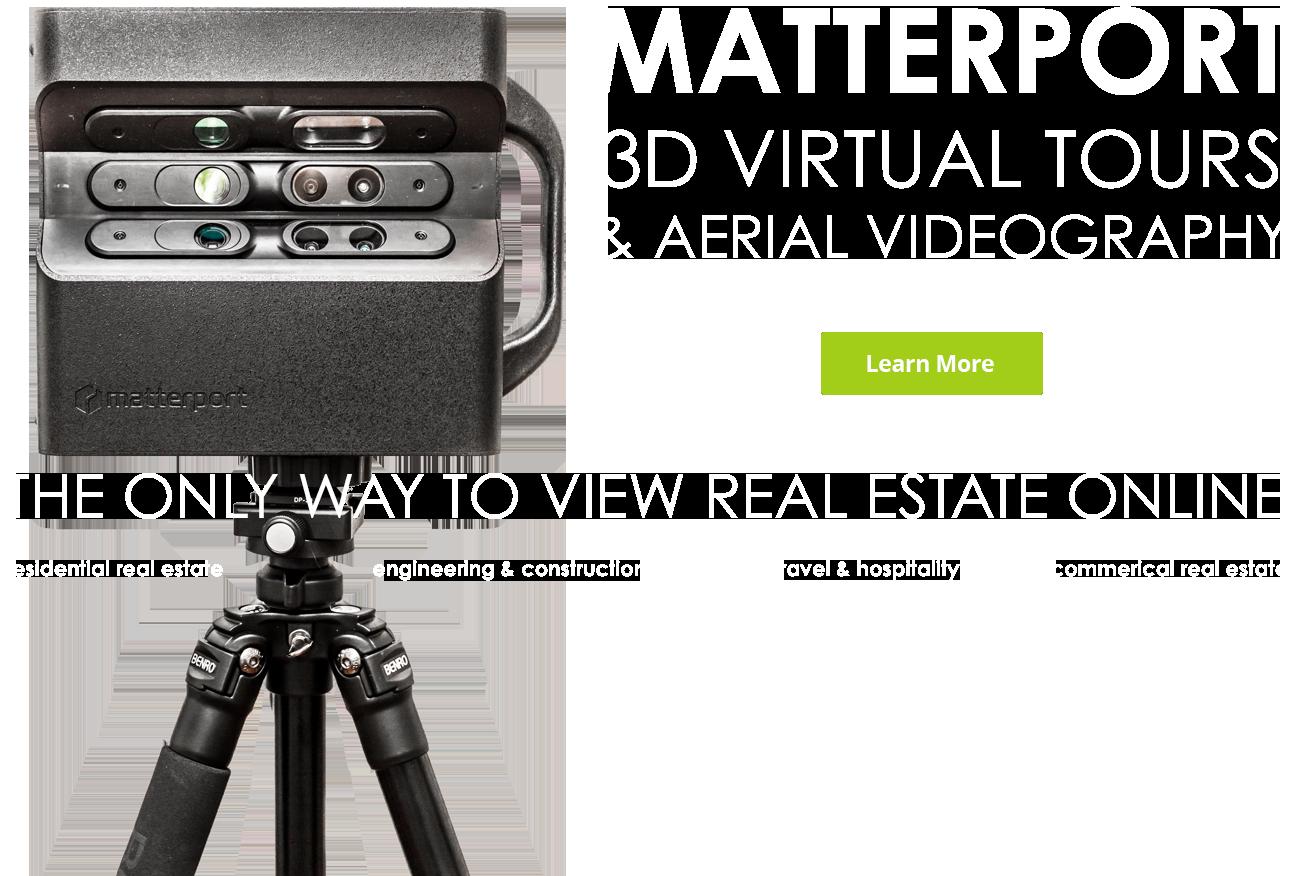 Matterport real estate 3d view map
